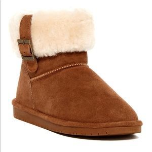 Bearpaw Abby Genuine Sheepskin Lined Boot NWT